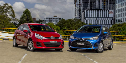 Kia Rio v Toyota Yaris : Comparison review