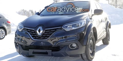 Renault mystery SUV spied in Kadjar clothing