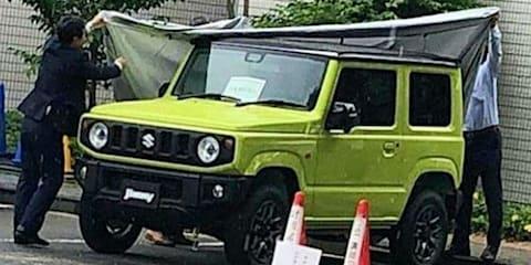 2019 Suzuki Jimny spied camouflage free