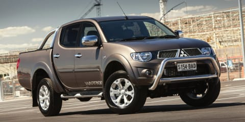 Mitsubishi Triton GLX-R Warrior headlines MY15 ute update