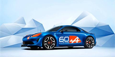 Alpine Celebration concept car revealed at Le Mans