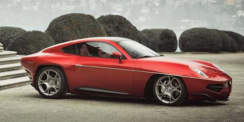 Alfa Romeo endorses Disco Volante supercar