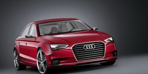 Audi A3 sedan concept revealed before Geneva debut