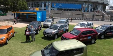Kia delivers 101 cars for the Australian Open