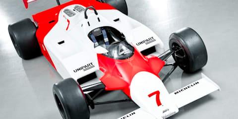 McLaren's secret car stash to reach the public