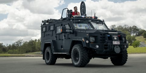 Queensland Police SERT Lenco Bearcat G3 review