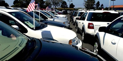 US car sales show positive trend