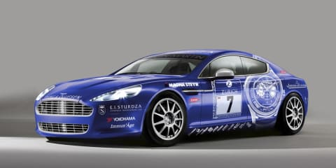 Aston Martin Rapide contests Nurburgring 24-hour race