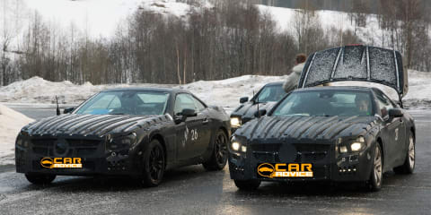 2011 Mercedes-Benz SL-Class spy photos