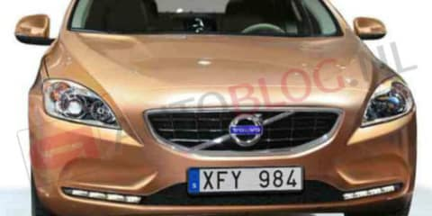 Volvo V40: Small hatchback leaked