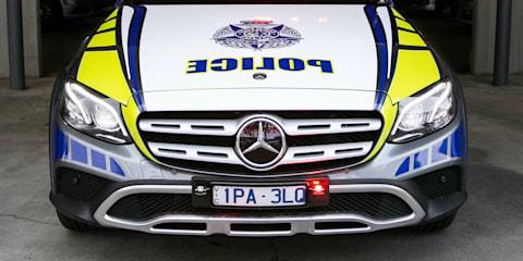High-powered Mercedes-Benz joins Victoria Police highway patrol fleet