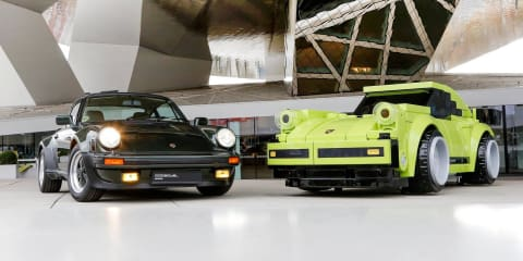 Porsche recreates 911 Turbo 3.0 in giant Lego