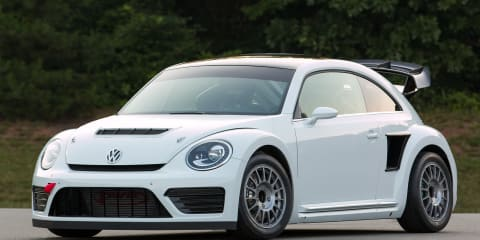 Volkswagen Beetle GRC revealed: A 406kW rallycross special