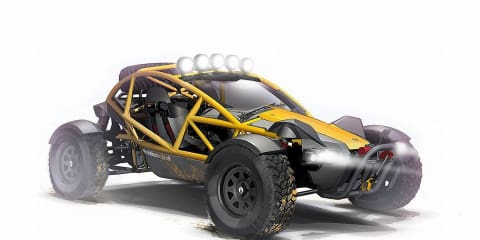 Ariel Nomad - no nonsense off-road buggy coming in 2015