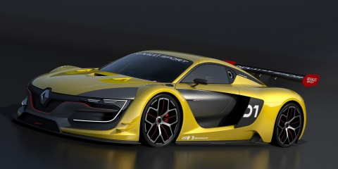 Renault R.S. 01 race car packs a Nissan GT-R punch
