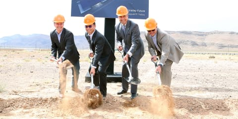 Faraday Future breaks ground at US$1 billion factory in Las Vegas