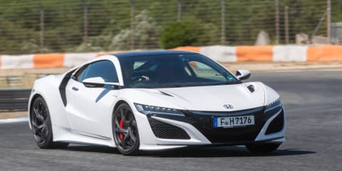 Honda NSX switched to turbo power halfway through development
