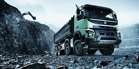 Hamster steers 15-tonne Volvo in quarry
