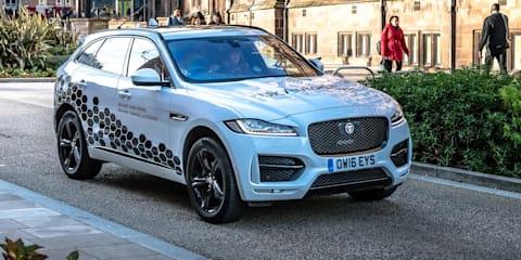 Jaguar Land Rover conducts first autonomous driving tests on public roads