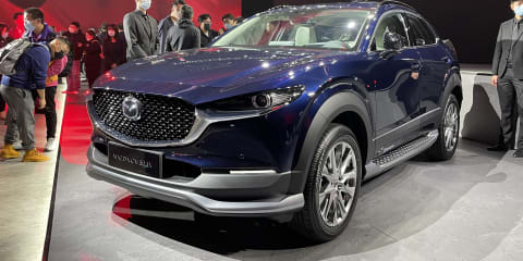 2021 Mazda CX-30 EV: Electric small SUV unveiled for China