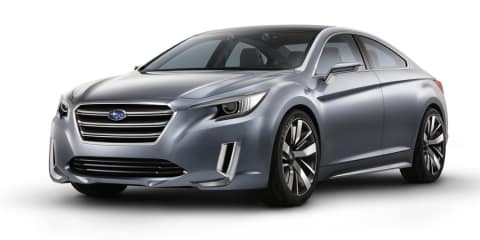 Subaru Legacy concept previews next-gen Liberty