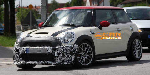 MINI Cooper JCW special edition spy shots