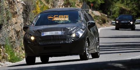 2012 Peugeot 208 spy shots