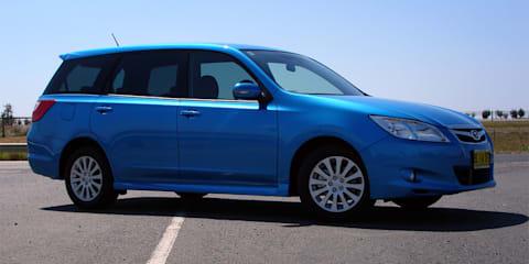 Subaru Liberty Exiga Review & Road Test