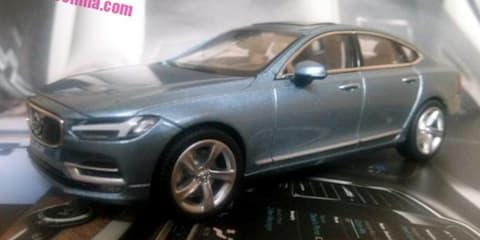 2016 Volvo S90 sedan revealed in scale-model form - UPDATE