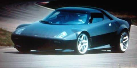 Lancia Stratos one-off prototype under development