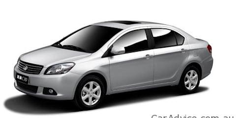 Great Wall Tengyi C30 sedan designed for Europe