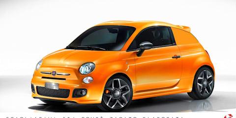 Fiat 500 Scagliarini Fiat 504 Coupé Zagato Elaborata