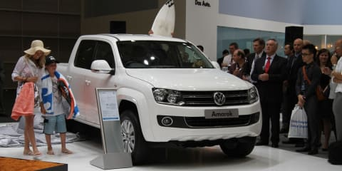 Volkswagen Amarok at 2010 AIMS