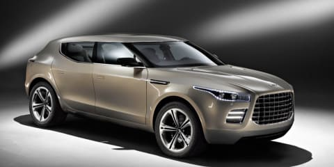 Aston Martin Lagonda coming in 2012?