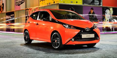 2014 Toyota Aygo : Euro-hip city hatch unveiled