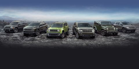 Jeep 75th Anniversary models revealed, Australian launch confirmed