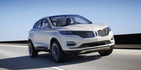 Lincoln MKC concept: luxury compact crossover debuts in Detroit