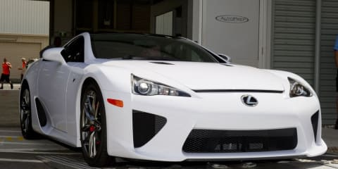 Lexus LFA Supercar arrives in OZ