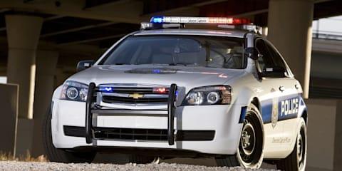 Holden police car exports not dead despite missing sales targets
