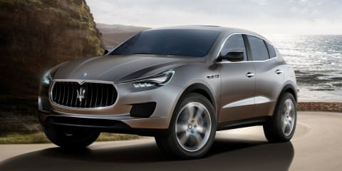 Maserati Levante SUV to be brand's best seller, launching late 2016