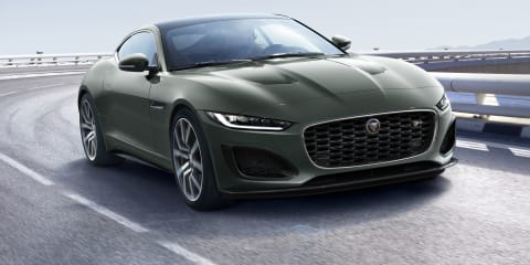2021 Jaguar F-Type Heritage 60 Edition price and specs