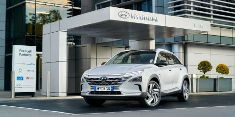 Hyundai first to register hydrogen car fleet in Australia