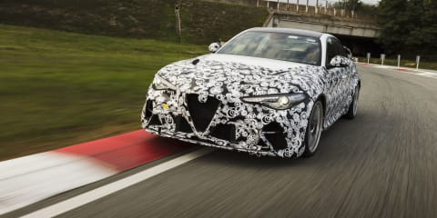 Video: Alfa Romeo Giulia GTA put through its paces by Kimi Raikkonen and Antonio Giovinazzi