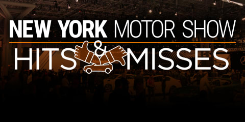 2016 New York motor show:: Hits and misses