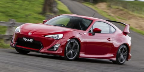 Toyota 86: aero package gives coupe wings