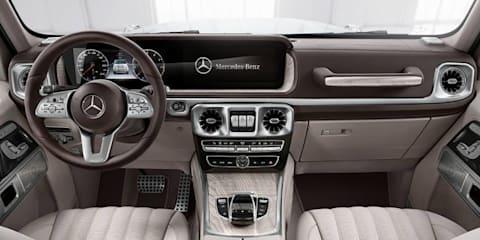2018 Mercedes-Benz G-Class teased