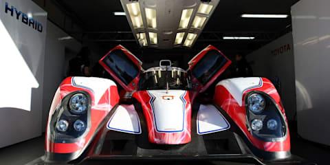 Toyota unveils Hybrid racer for Le Mans