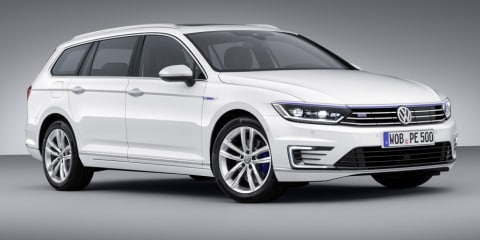 Volkswagen Passat GTE plug-in hybrid revealed