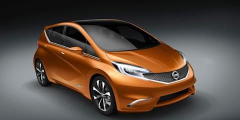 Nissan Invitation concept previews new hatch