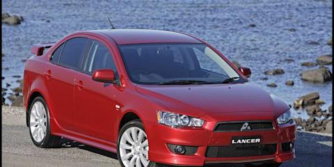 Mitsubishi Lancer gains extra airbags